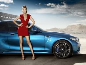 Gigi Hadid BMW